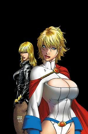 Power Girl Busts Out photo 6