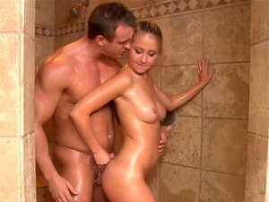 Kathy Shower Oiled photo 18