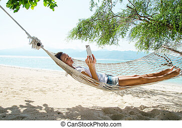 Naked In A Hammock photo 24