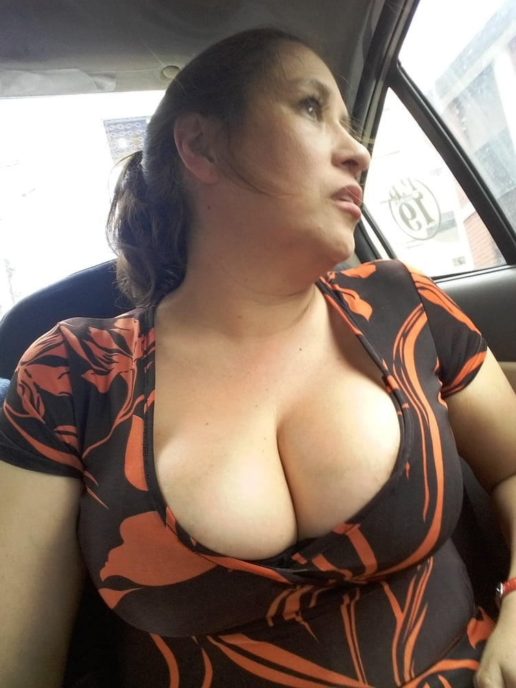 Showing My Tits In Public photo 9