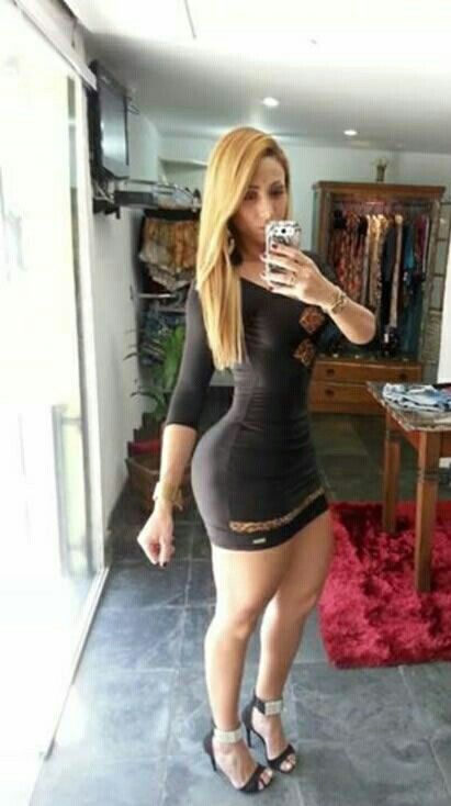 Thick Latina In Dress photo 1