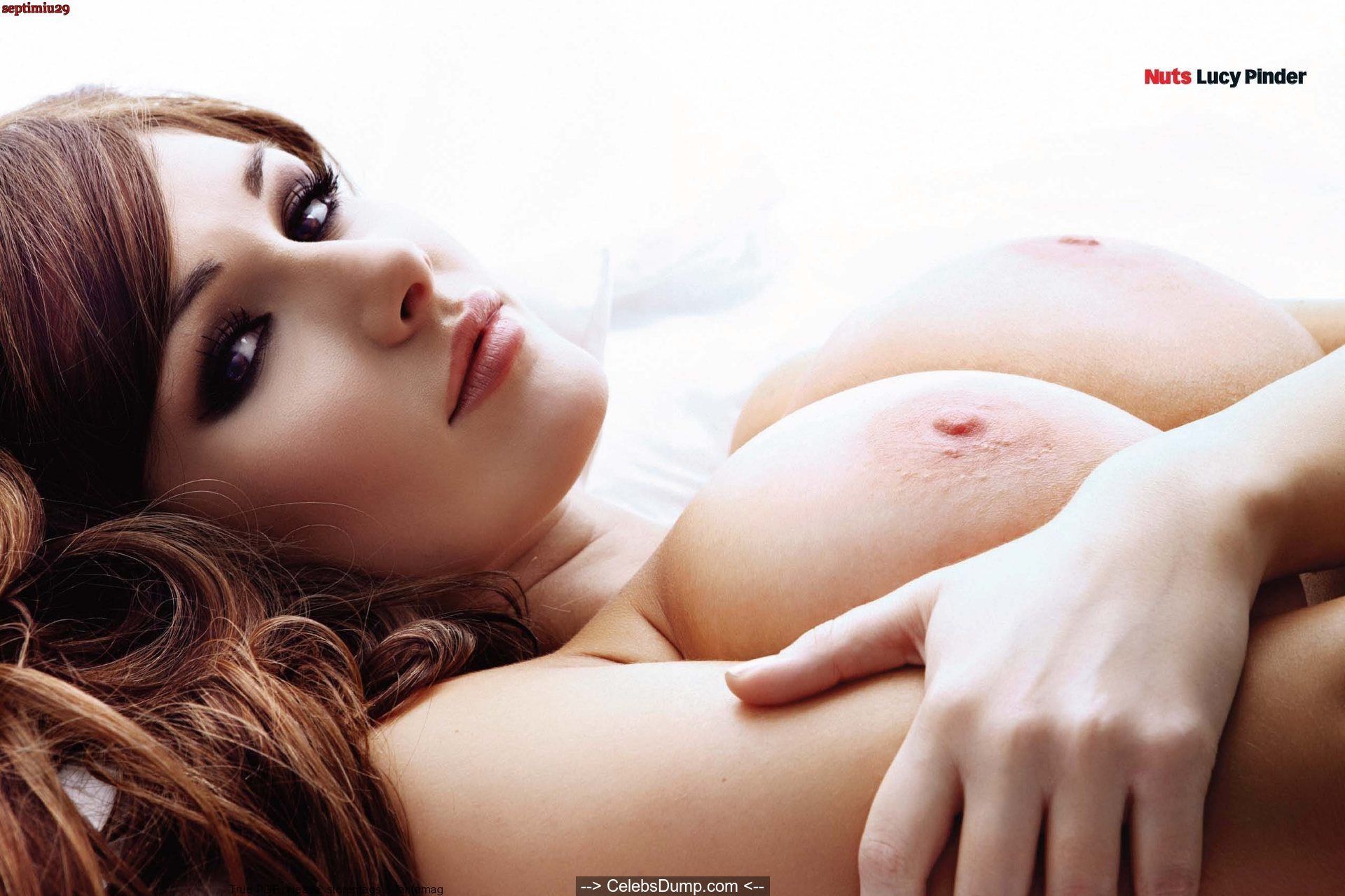 Lucy Pinder Cleavage photo 12