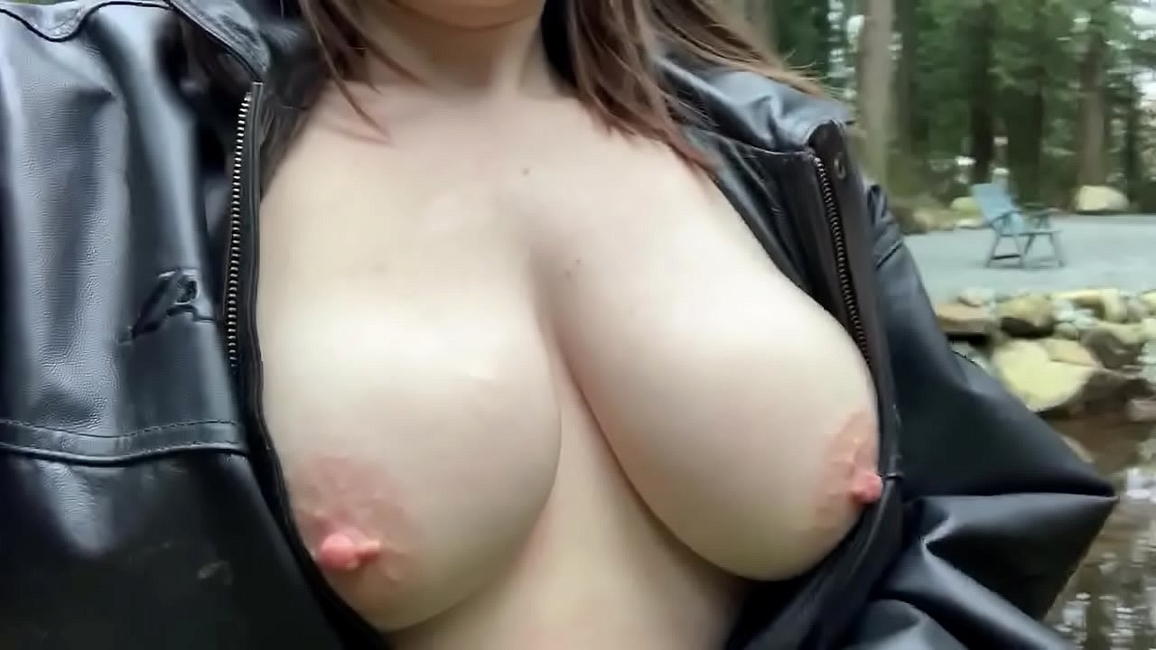 Showing My Tits In Public photo 14