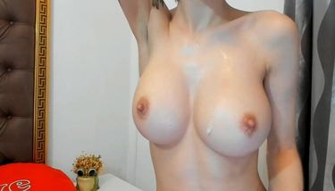 Girl Playing With Her Tits photo 13
