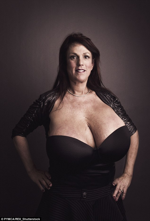 Woman With Huge Breasts photo 16