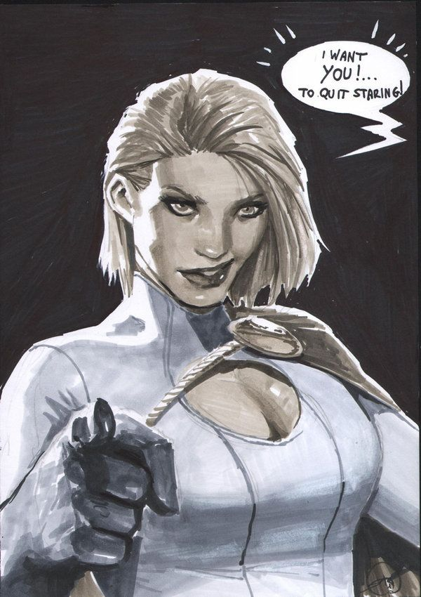 Power Girl Busts Out photo 8