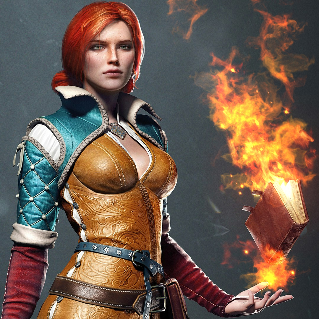 The Witcher 3 Boobs photo 6