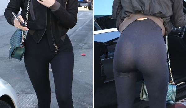 Kylie Jenner See Through Thong photo 23