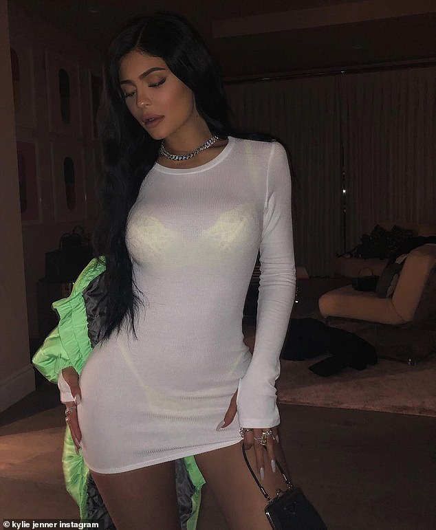 Kylie Jenner See Through Thong photo 10
