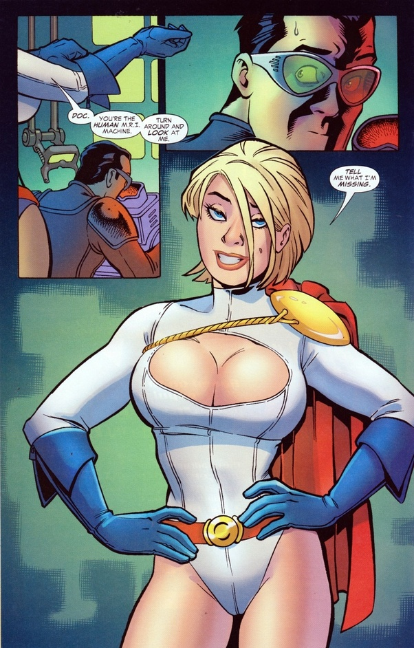 Power Girl Busts Out photo 11